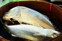 Steamed fish tuna in Thailand