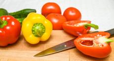 Bulgarian pepper red