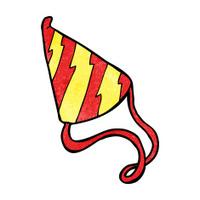 cartoon party hat
