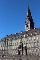 Denmark Parliament at Christiansborg