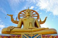 Big buddha in Suratthani Thailand