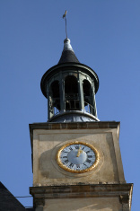 tower bell and clock