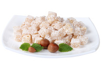 Marmeladny candies on a plate