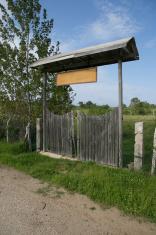 wooden garden gate enterance in turkey