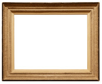 Golden color frame