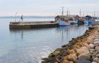 Harbour in Ebeltoft, Denmark