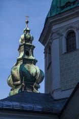 Steeple Salzburg Cathedral Austria