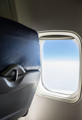 Back of Seat on a Commercial Airliner