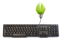 Energy saving light bulbs and  back keyboard.