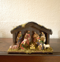Decorative nativity scene
