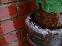 Wintertime Ice - Frozen Pipe
