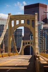 Pittsburgh Skyline and bridge