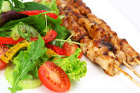 Salad and Satay
