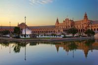 Square of Spain, Sevilla, Spain