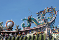 Decorative Dragon, Penang