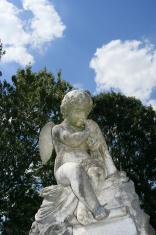 stone cherub