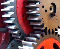 Pinion gear of mechanical machine