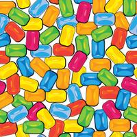 multicolor bubblegum seamless pattern