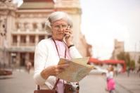 Elderly women lost in city