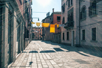 Venice, a street in the sun