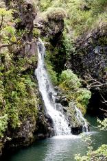 Waterfall Near Hana
