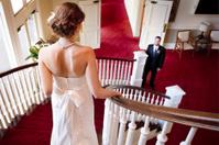 Bride Descending Stair Case