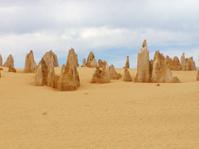 Pinnacles in the desert