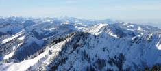 Alpine winter scene 2