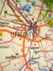 Antique Map Utrecht