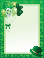 Saint Patrick's Day Frame