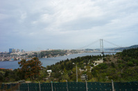 bosphorus bridge at istanbul turkey