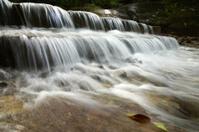 Small waterfall in the rainy season
