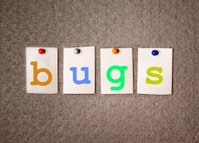 bugs note on pin board