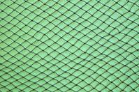 fishing net on wall