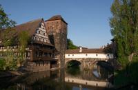 Wine Store and Hangman's Bridge in Nuremberg