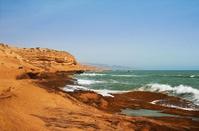 The coast of the Atlantic Ocean