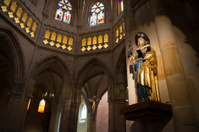 St James at Santiago Cathedral in Bilbao