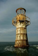 Cast iron lighthouse