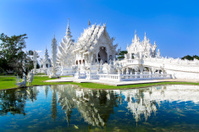 White Temple in Chiang Rai.