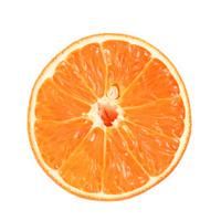 Slice of orange.