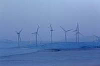 Wind farm near Pincher Creek Alberta