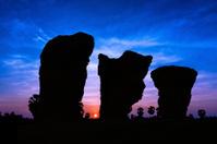 Stone henge on twilight time