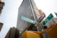Madison Avenue Street Sign, New York City