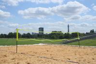 beach volleyball court London