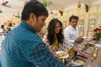 Indian Food Serving