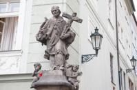Religious Saint Statue, Prague
