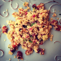 Cranberry Quinoa
