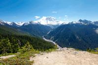 Scenic view of Mt Rainer. Washington, Seattle