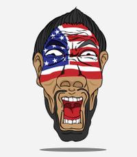 football fan from USA