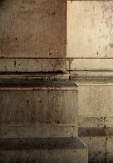 old concrete pillars, colums
